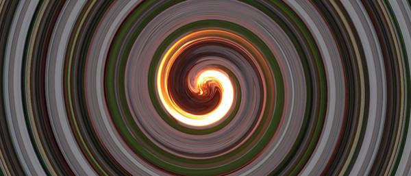 Megadeth Wall Art - Photograph - Swirl Of Fire by Michael French
