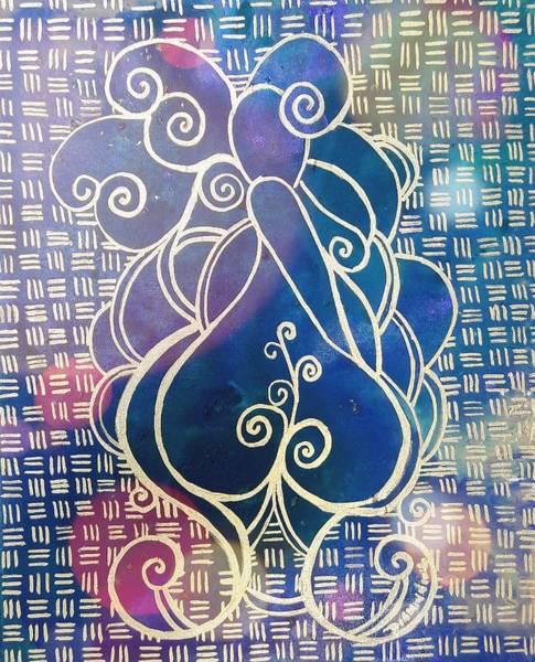 Creative Painting - Swirl Thick Girl #2 by Diamin Nicole