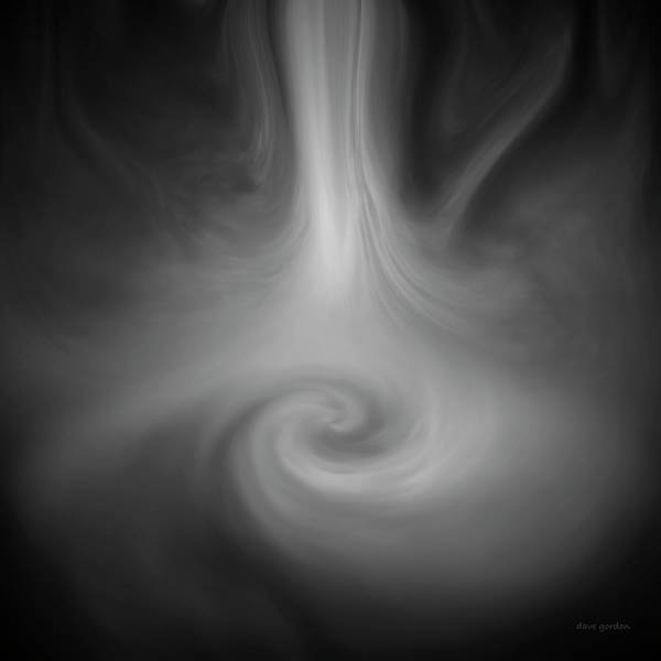 Digital Art - Swirl Wave IIi by David Gordon