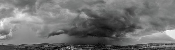 Photograph - Swirling Nebraska Supercells 011 by NebraskaSC
