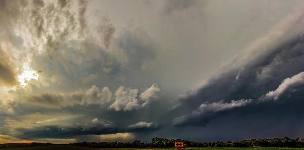 Photograph - Swirling Nebraska Supercells 018 by NebraskaSC