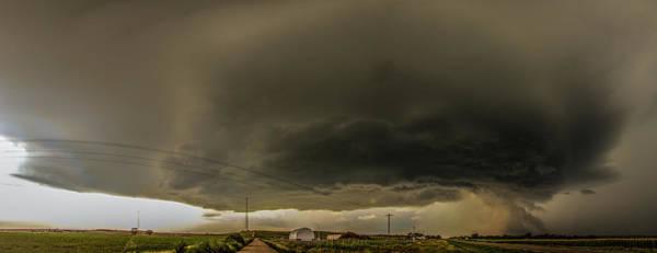 Photograph - Swirling Nebraska Supercells 026 by NebraskaSC