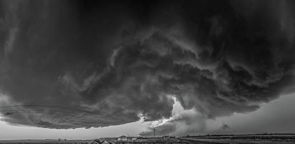 Photograph - Swirling Nebraska Supercells 030 by NebraskaSC