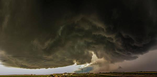Photograph - Swirling Nebraska Supercells 031 by NebraskaSC