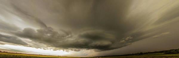 Photograph - Swirling Nebraska Supercells 033 by NebraskaSC