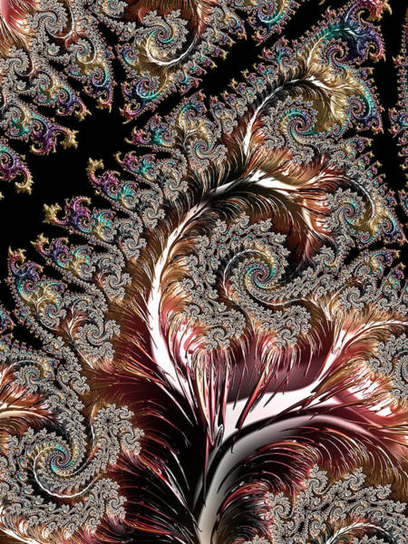 Digital Art - Swirls And Roots by Michele A Loftus