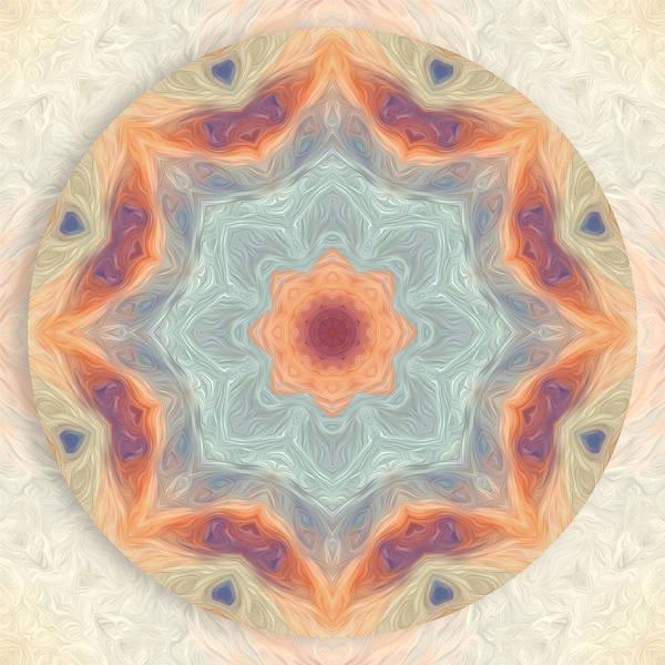 Digital Art - Swirls Of Love Mandala by Beth Sawickie
