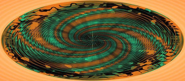 Photograph - Swirly Mug Shot by John M Bailey