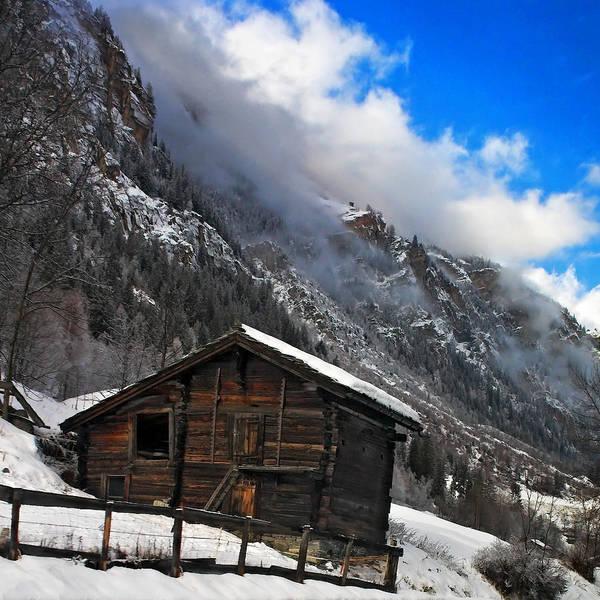 Photograph - Swiss Barn by Neil Shapiro