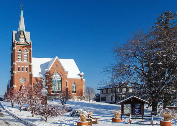 Photograph - Swiss United Church Of Christ by Todd Klassy