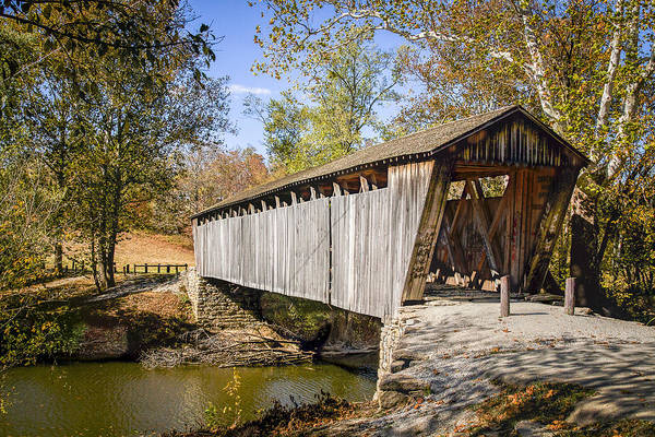 Photograph - Switzer Covered Bridge by Jack R Perry