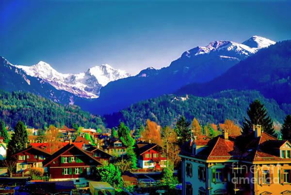 Photograph - Switzerland Alps Interlaken  by Tom Jelen