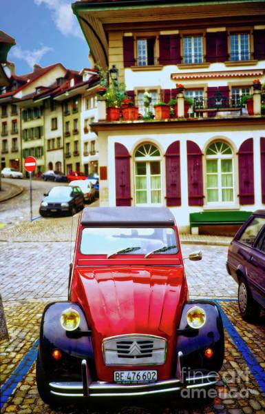 Photograph - Switzerland, Citron, Euro, Architecture  by Tom Jelen