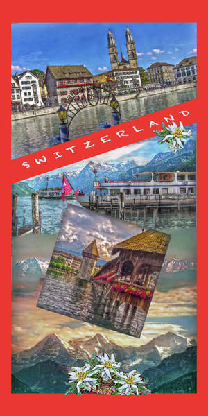Zuerich Wall Art - Photograph - Switzerland by Hanny Heim