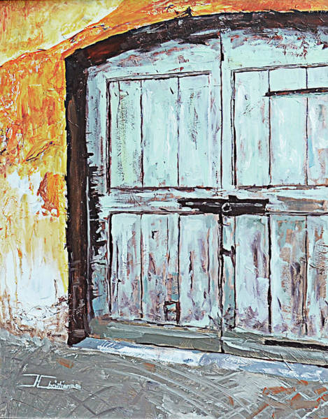 Painting - Switzerland Mint Door by Jan Christiansen