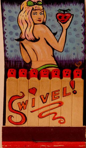 Babe Mixed Media - Swivel by Liz Carroll
