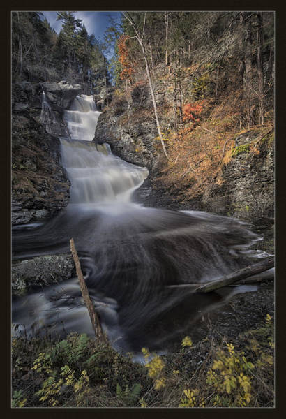 Poconos Wall Art - Photograph - Swoosh by Robert Fawcett