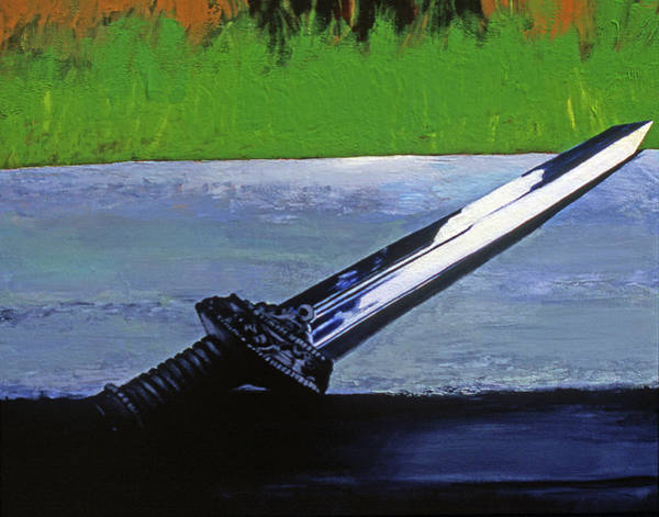 Painting - Sword Of Protection  by Rene Capone