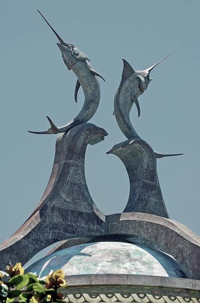 Bahamas Digital Art - Swordfish Sculpture by DigiArt Diaries by Vicky B Fuller
