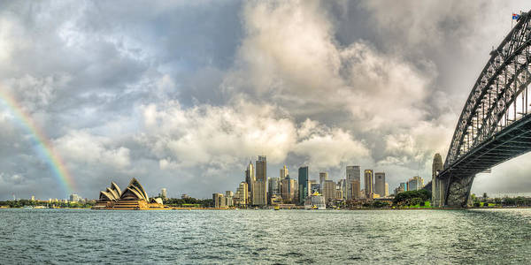 Photograph - Sydney After A Rainstorm by James Udall