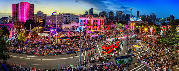 Gay Photograph - Sydney Gay And Lesbian Mardi Gras Parade by Az Jackson