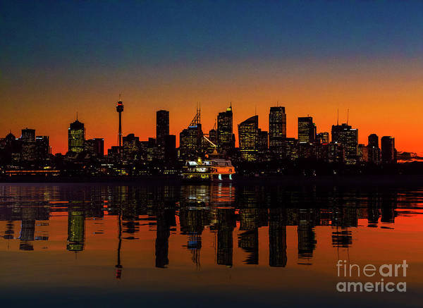 Wall Art - Photograph - Sydney Harbour At Sunset by Sheila Smart Fine Art Photography