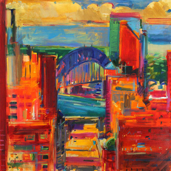 Ocean City Painting - Sydney Harbour Bridge by Peter Graham