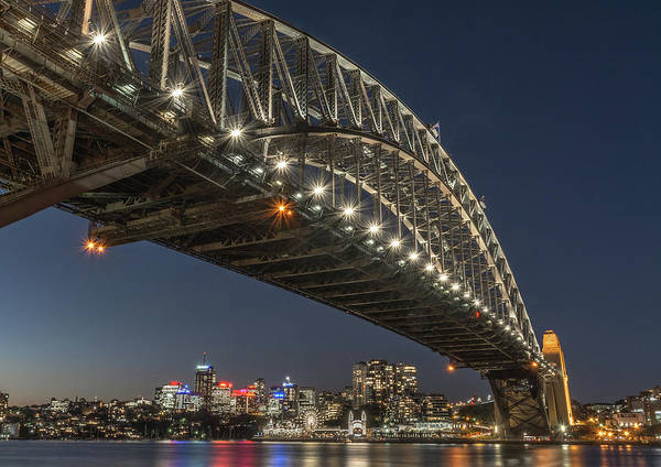 Photograph - Sydney Harbour Bridge by Racheal Christian