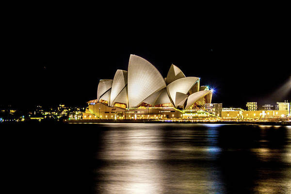 Photograph - Sydney Opera House At Night by Kenny Thomas