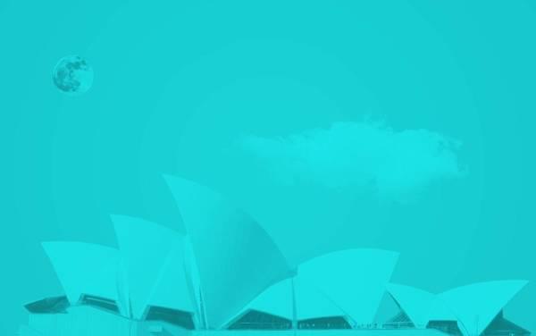 Painting - Sydney Opera House By Adam Asar 13 by Adam Asar