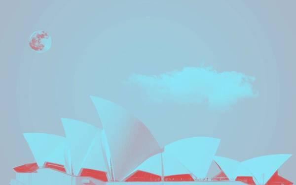 Painting - Sydney Opera House By Adam Asar 14 by Adam Asar