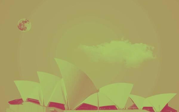 Painting - Sydney Opera House By Adam Asar 15 by Adam Asar