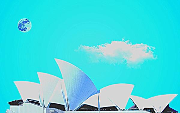 Painting - Sydney Opera House By Adam Asar 16 by Adam Asar