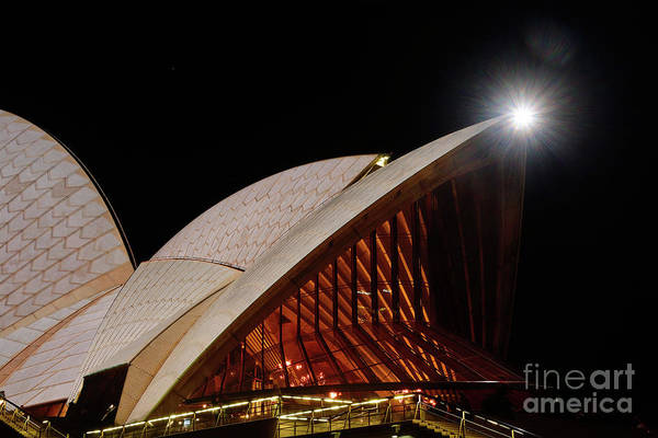 Wall Art - Photograph - Sydney Opera House Close View By Kaye Menner by Kaye Menner