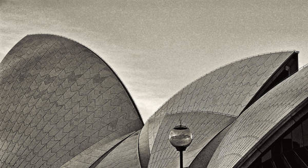 Sydney Opera House Roof Detail Art Print