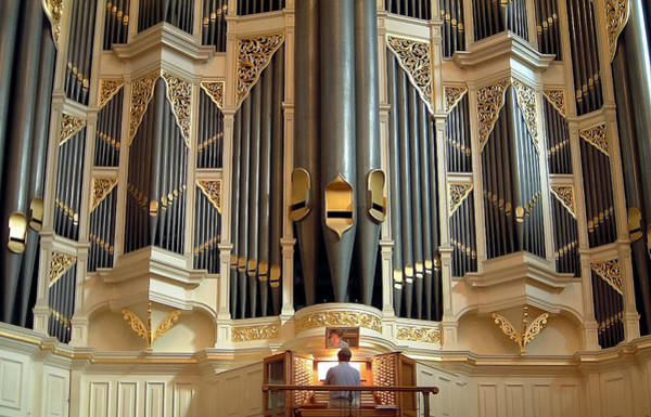 Photograph - Sydney Town Hall Organ by Jenny Setchell