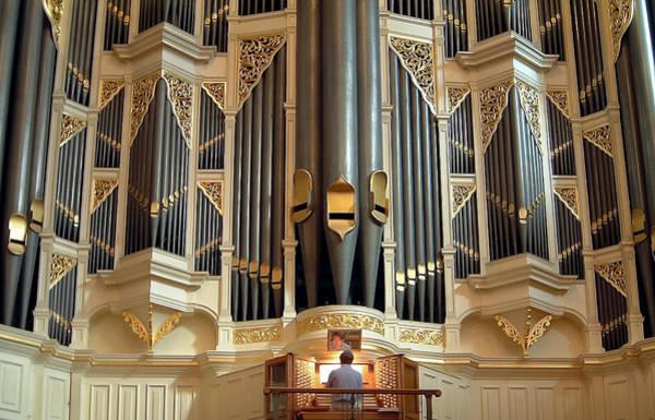 Photograph - Sydney Town Hall Organ by Jenny Setchell