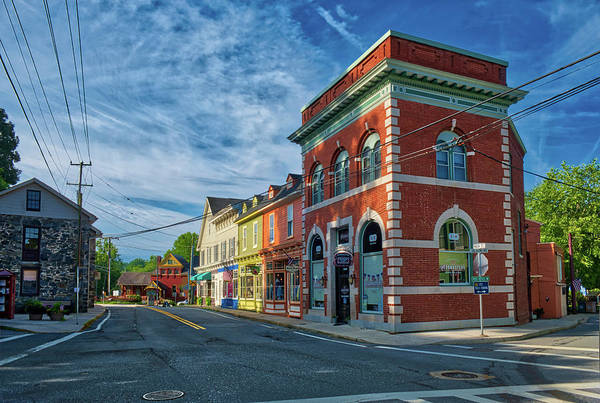 Photograph - Sykesville Main St by Mark Dodd