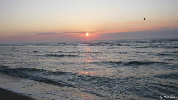 Photograph - Sylt Sun Set by Heidi Sieber