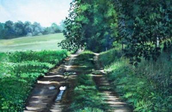 Painting - Sylvan Trail by William Brody