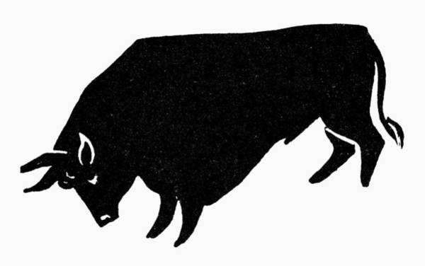 Photograph - Symbol: Bull by Granger