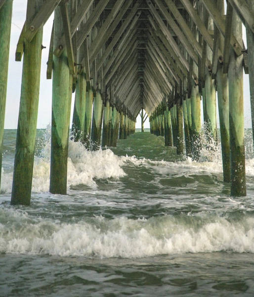 Oceanfront Photograph - Symbolic Surf City Pier by Betsy Knapp