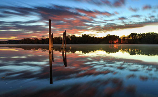 Photograph - Symetry On The River by Kyle Lee