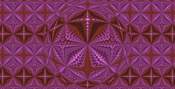Photograph - Symmetrical Pattern, Kaleidoscope by Ernst Dittmar