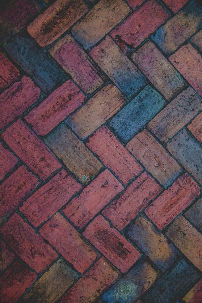 Bricks Photograph - Symmetry  by Kathy Malecki