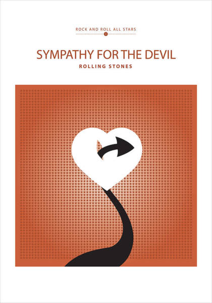 Digital Art - Sympathy For The Devil by David Davies