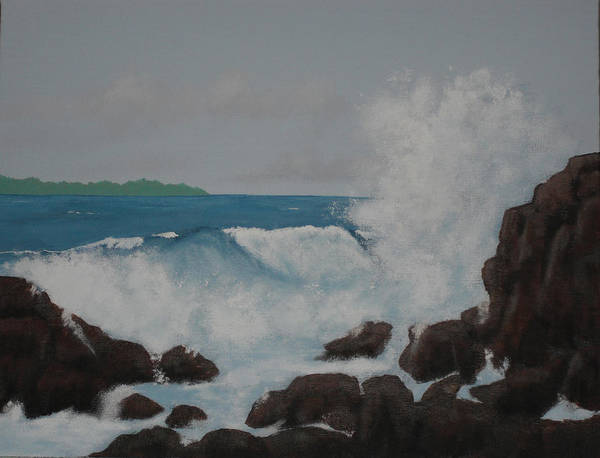 Wall Art - Painting - Symphony In Sea by Candace Shockley