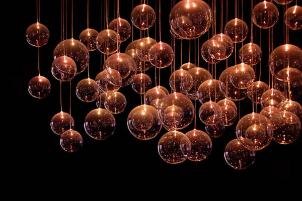 Bubbles Wall Art - Photograph - Symphony In The Dark by Evelina Kremsdorf