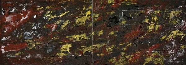 Wall Art - Painting - Symphony No. 8 Movement 12 Vladimir Vlahovic- Images Inspired By The Music Of Gustav Mahler by Vladimir Vlahovic