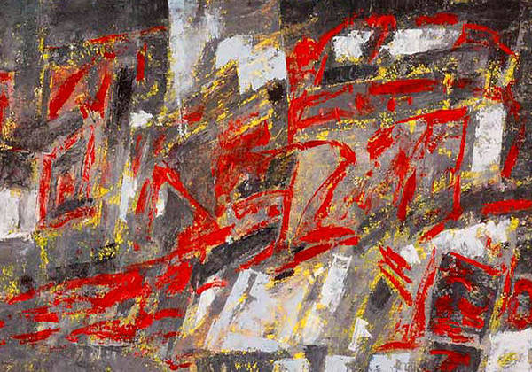 Wall Art - Painting - Symphony No 8 Movement 22 Vladimir Vlahovic- Images Inspired By The Music Of Gustav Mahler by Vladimir Vlahovic